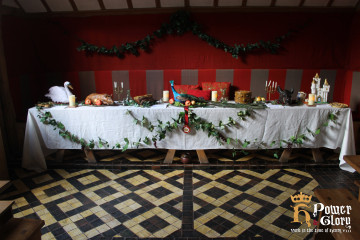 Great Tudor Banquet in Barley Hall's Great Hall