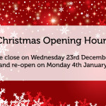 Christmas Opening Hours!