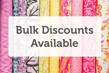 Bulk Discounts Available!