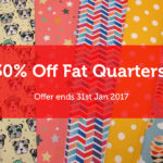 30% Off All Fat Quarters!