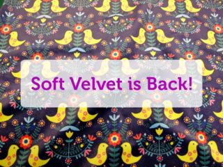 Soft Velvet!