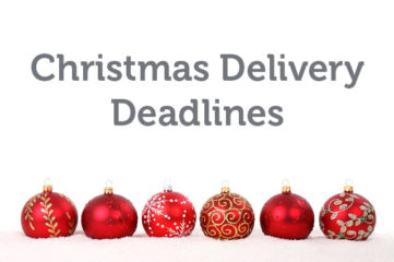 Christmas delivery deadlines 2018