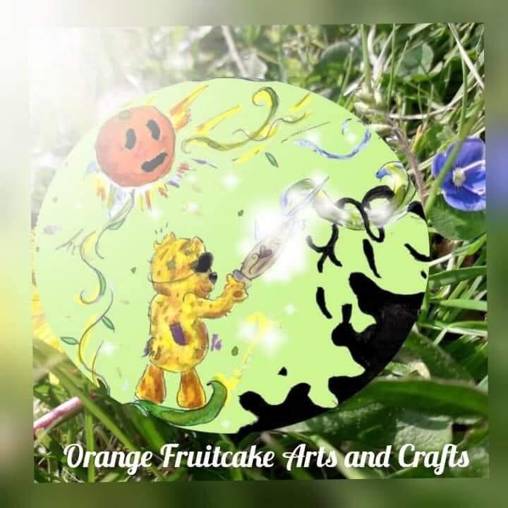 Orange Fruitcake Arts