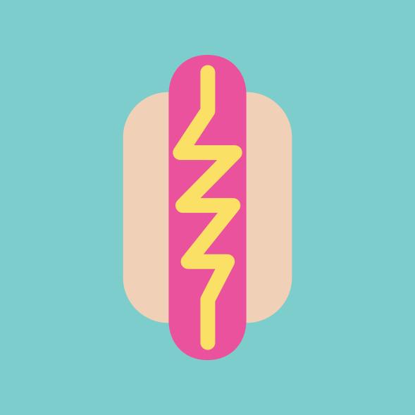 Neon Hotdog