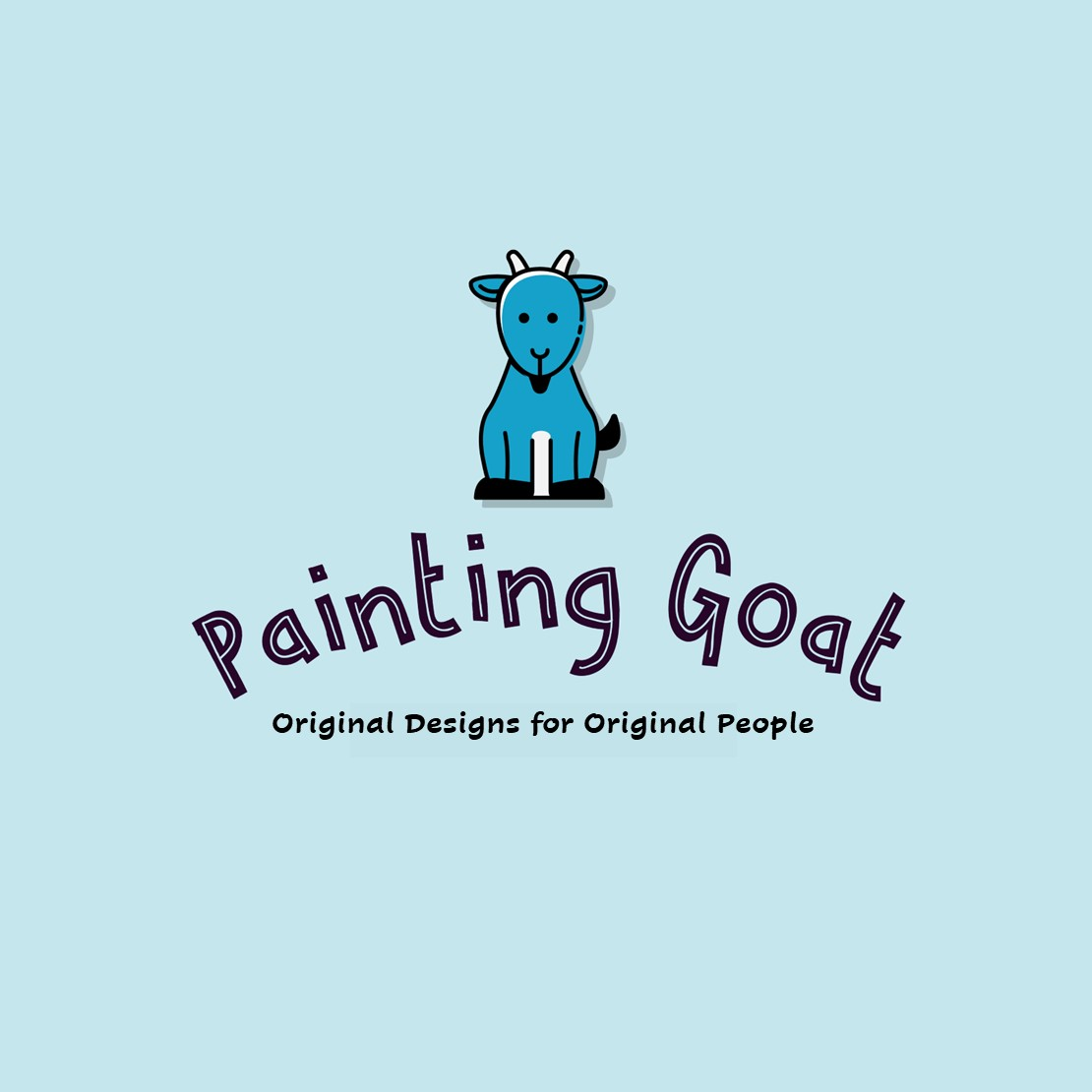 Painting Goat